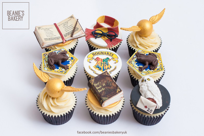 Harry Potter Cupcakes Handmade Cakes Amp Cupcakes In