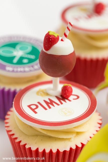Wimbledon Tennis Cupcakes by Beanie's Bakery