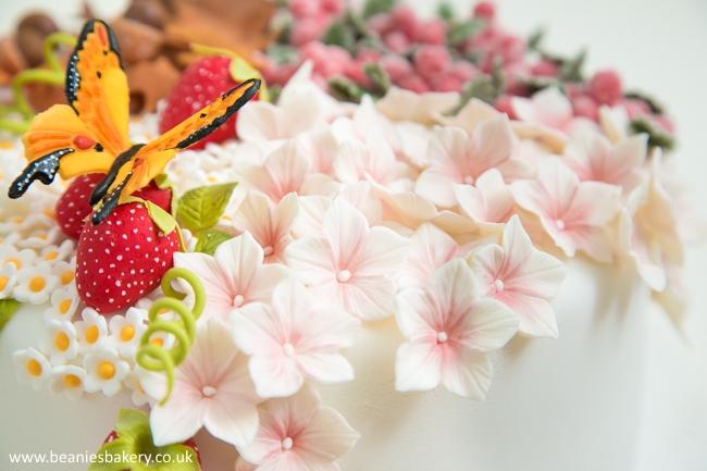 Four Seasons Themed Cake by Beanie's Bakery