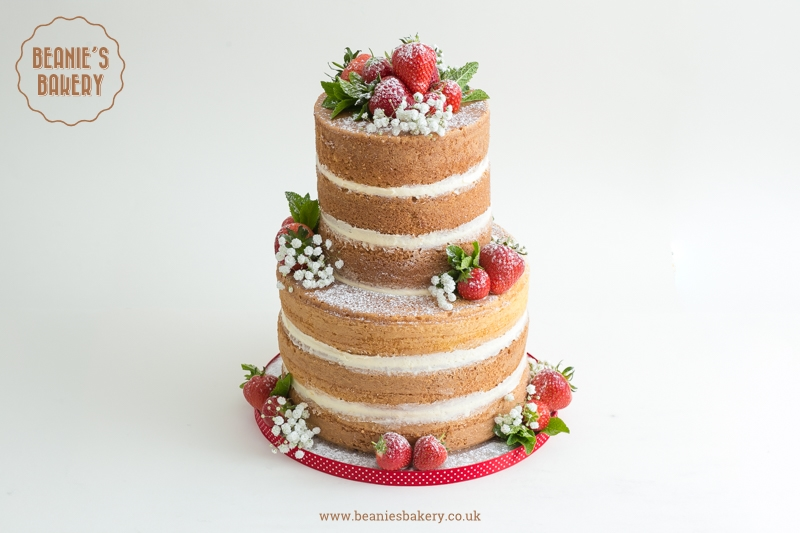 Naked Cake by Beanie's Bakery